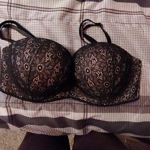 Victoria's secret black push up bra